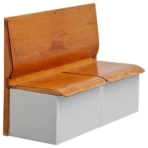 laundry benches piet zwart bruynzeel laundry bench holland 1950 at 1stdibs