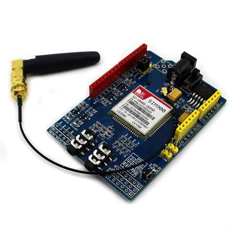 Tutorial Arduino Gprs Shield | sim900 quad band gsm gprs shield development board for