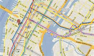 New York Map Google by New York New York Map Google