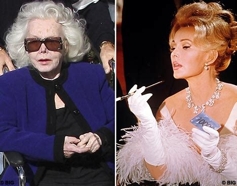 Did Zsa Zsa Gabors Husband Smiths Baby by Ageing Zsa Zsa Gabor Clings To The Glamorous Daily