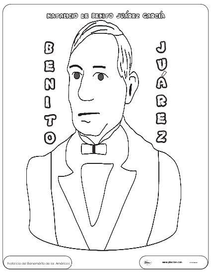 imagenes de benito juarez faciles para dibujar benito ju 225 rez para colorear recursos e informaci 243 n para