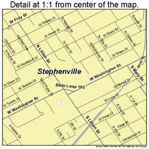 stephenville map 4870208