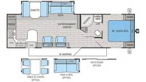 Rv Camper Floor Plans by 2016 Jayco Jay Flight 29rks Travel Trailer Floor Plan