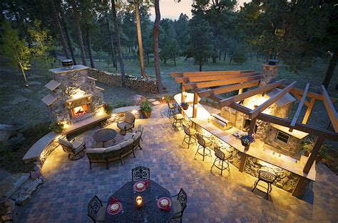 architects colorado springs landscape architect colorado springs outdoor fireplace ideas