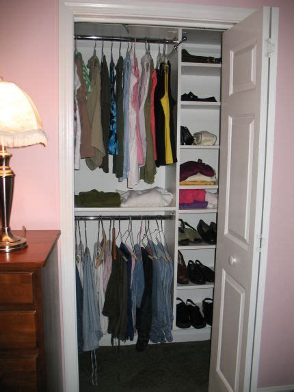 How To Make Room In A Small Closet by Designs For Small Closets White Reach In Closetssmall Master Bedroom Reach In Closet System