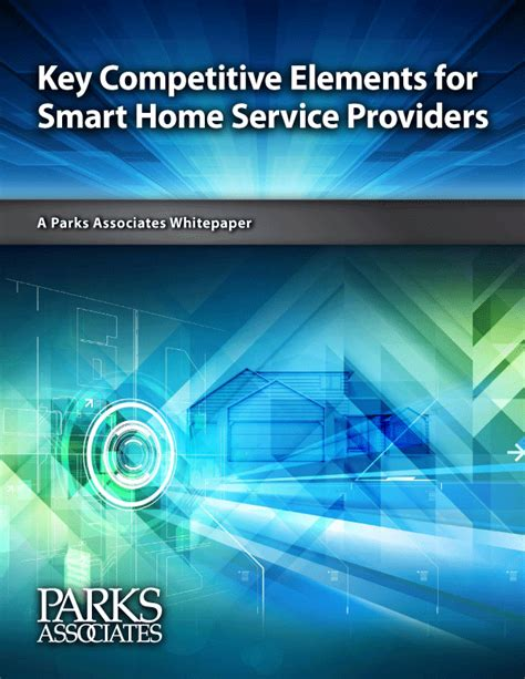key competitive elements for smart home service providers