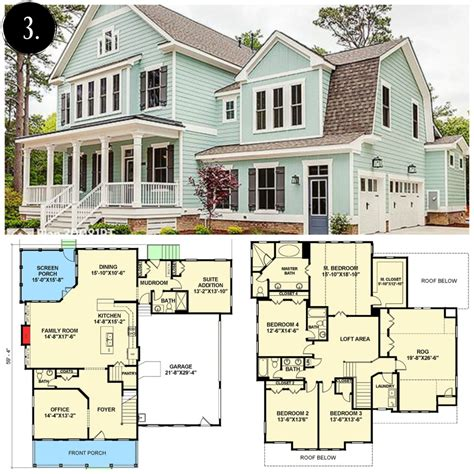 farmhouse floor plans 10 modern farmhouse floor plans i love rooms for rent blog