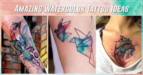 best watercolor tattoo design 60 best watercolor tattoos meanings ideas and designs