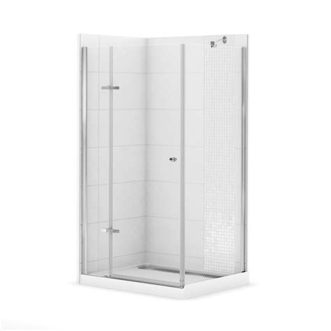 maax urbano ii 42 inch x 34 inch corner shower stall the
