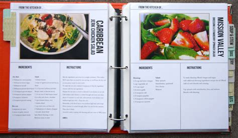 recipe layout templates putting together the recipe book thenerdnest