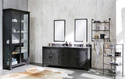 industriele len wit la salle de bain de style industriel masalledebain