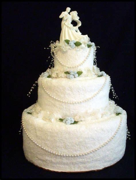 Wedding Cake Og by Wedding Cake Made Of Towels Towel Wedding Cake Wedding