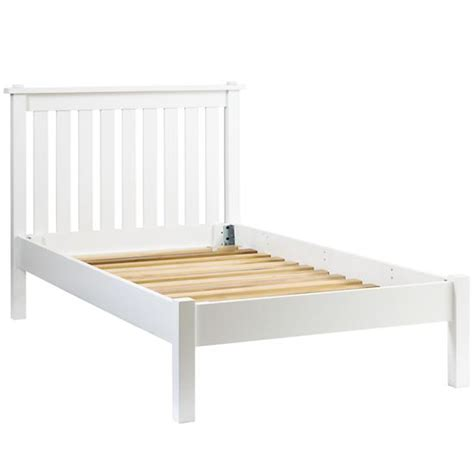 white bed frame twin white twin bed frame