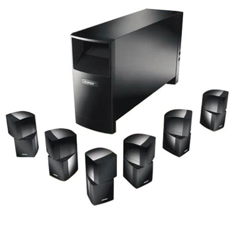 home theater systems bose acoustimass 16 6 1 channel