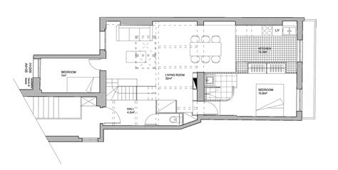 house with attic floor plan parisian apartment opens attic to introduce more light