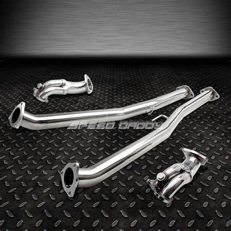 Sdd Ss 1 1 2 Stainless Pesan stainless racing downpipe exhaust for 90 96 300zx turbo fairlady z z32 vg30dett