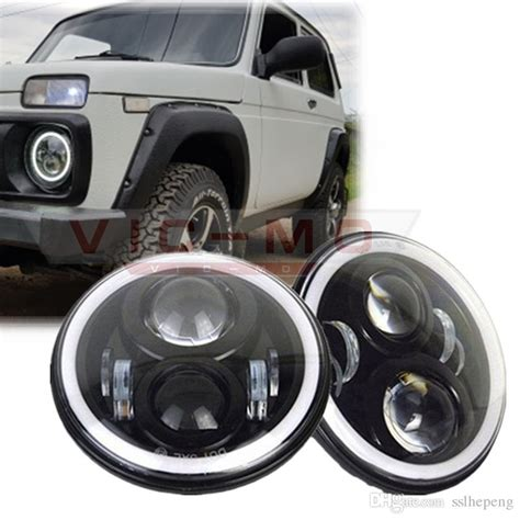 lada led h4 2018 7 inch h4 led daymaker projector headlights for