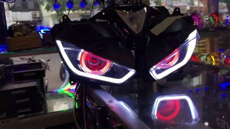 Lu Projector Yamaha R25 yamaha r25 headlight review with aes projector lens