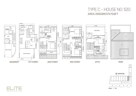 elite house plans house 52g elite residences