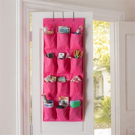closet space organizer 2016 high quality 12 pockets door cloth closet space
