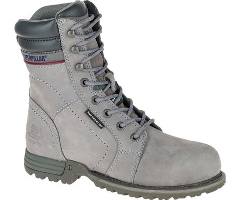 cat s echo waterproof steel toe work boot
