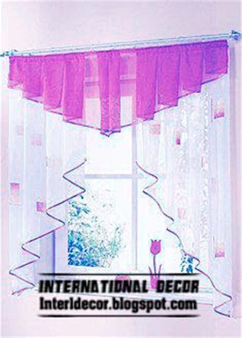 Purple Kitchen Curtains Small Curtains Models For Kitchens In Different Colors