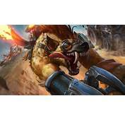 Hyena Warwick Splash Art Video Game League Of Legends 1920x1080