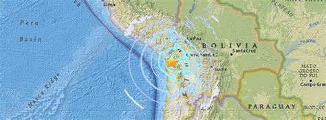earthquake october 2017 strong m6 3 earthquake hits tarapaca chile at