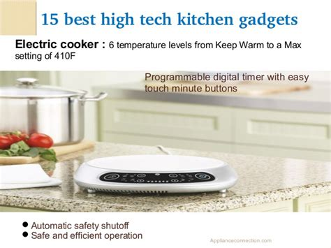 best kitchen gadgets best high tech kitchen gadgets of 2014