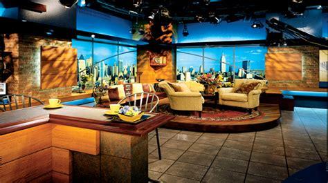 design shows wpix set design talk shows broadcast design
