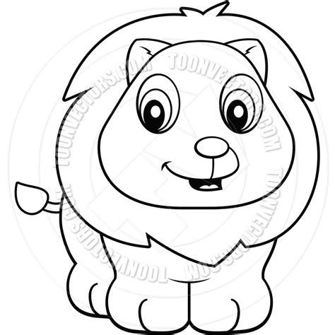 cute lion cub coloring pages