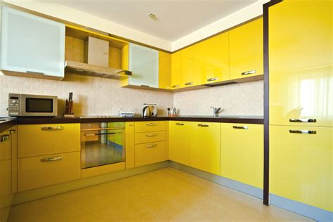 yellow kitchen dark cabinets 75 modern kitchen designs photo gallery designing idea