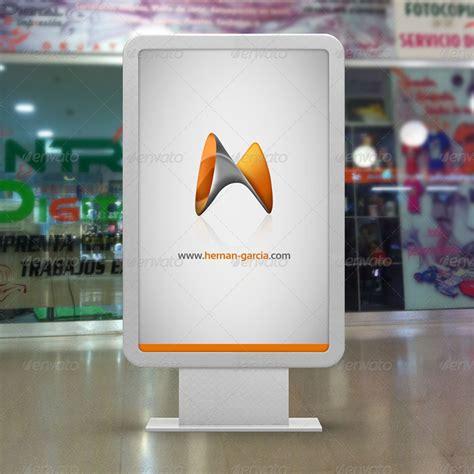 digital mock up design review mupi billboard mock up by garhernan graphicriver