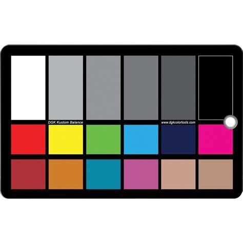 color tool dgk color tools wdkk waterproof color chart wdkk b h photo