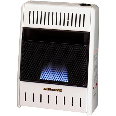 procom 14 in vent free dual fuel blue gas wall