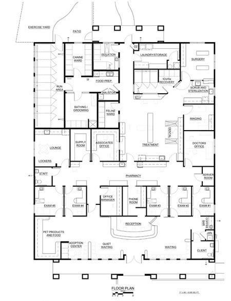 veterinary floor plans 2012 veterinary economics hospital design people s choice