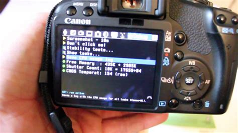 Resetting Canon T2i   how to find shutter actuations canon dslr cameras t1i 500d