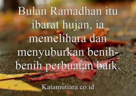 kata islami hujan gambar islami