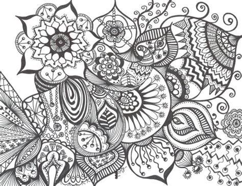 Blumenmuster Vorlagen 196 Hnliche Artikel Wie Zentangle Blumenmuster Auf Papier 8 X 11 Auf Etsy