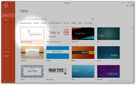 make your own custom powerpoint template in office 2013