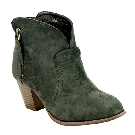 olive color boots olive green booties