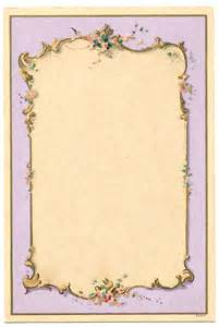 vintage image french lilac frame the graphics fairy