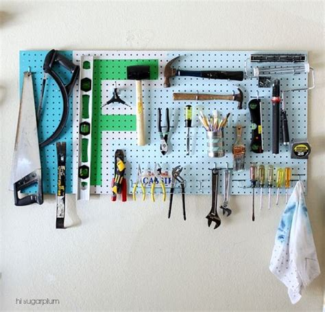 Garage Organization Boards Time To Sort Out The Mess 20 Tips For A Well Organized