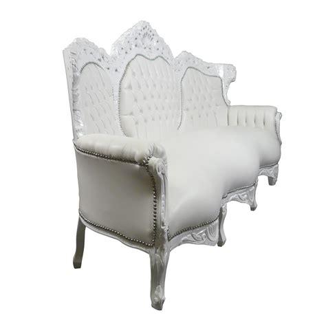 divani barocco divano bianco barocco ecopelle barocco mobili