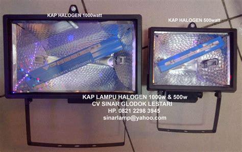 Kap Sorot Halogen 300w Surya lu sorot halogen 500 watt dan 1000 watt