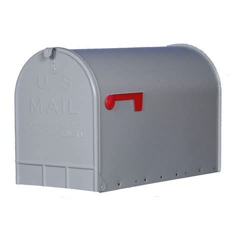 mailboxes for gibraltar mailboxes jumbo galvanized steel post mount