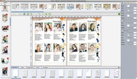 yearbook layout programs yearbook design software to create your own yearbook