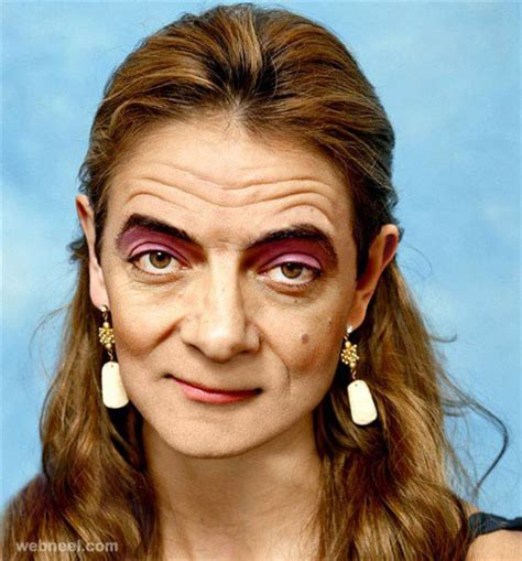 celebrity face images 30 funny photoshop manipulation works for your inspiration