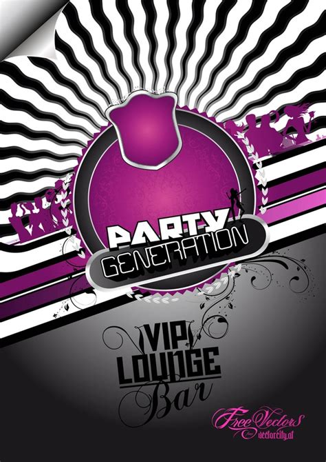 party flyer design kostenlos free party flyer hintergrund download der kostenlosen vektor