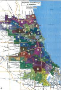 Chicago Alderman Map by The New Chicago Ward Map Passes Chicago Magazine The